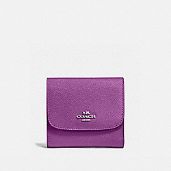 SMALL WALLET - SILVER/BERRY - COACH F87588