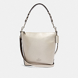 MINI ABBY DUFFLE - SV/PLATINUM - COACH F87691