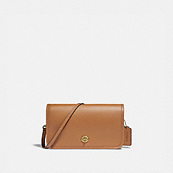 PENNY CROSSBODY - IM/LIGHT SADDLE - COACH F87768
