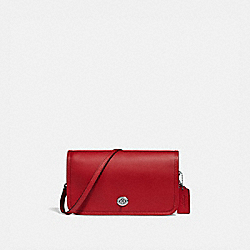 PENNY CROSSBODY - SV/TRUE RED - COACH F87768