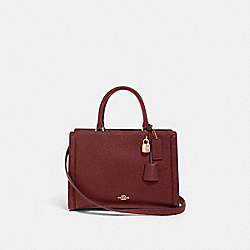 ZOE CARRYALL - IM/WINE - COACH F88037