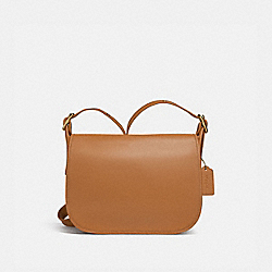 PATRICIA SADDLE BAG - IM/LIGHT SADDLE - COACH F88145