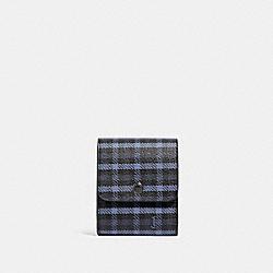 GROOMING KIT WITH TINY CLASSIC PLAID PRINT - QB/NAVY - COACH F88358