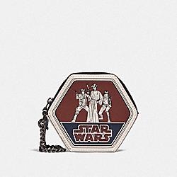 STAR WARS X COACH COIN CASE WITH TRIO - QB/MULTICOLOR - COACH F88490