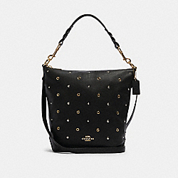 ABBY DUFFLE WITH GROMMETS - IM/BLACK - COACH F88897