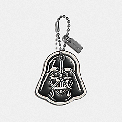 STAR WARS X COACH DARTH VADER HANGTAG - BK/CHALK - COACH F89373