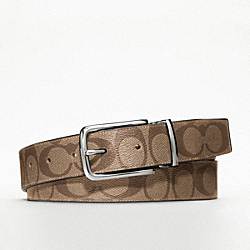 COACH SIGNATURE ONE SIZE REVERSIBLE DRESS BELT - ONE COLOR - F90258