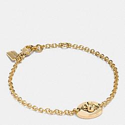 TURNLOCK BRACELET - GOLD - COACH F90335