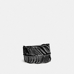 FEATHER RING - BLACK - COACH F90430