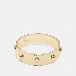 COACH COACH RIVET BANGLE - GOLD - F90491