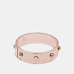 COACH COACH RIVET BANGLE - ROSEGOLD - F90491