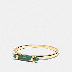 COACH AMULET HINGED BANGLE - GDPAL - F90505