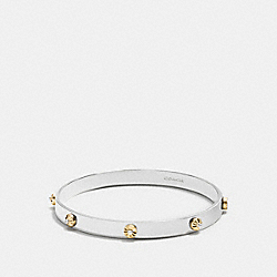 DAISY RIVET BANGLE - f90945 - SILVER/GOLD