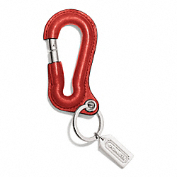 CARABINER KEY RING - TOMATO - COACH F92965