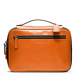 COACH BLEECKER LEATHER TRAVEL KIT - ONE COLOR - F93208