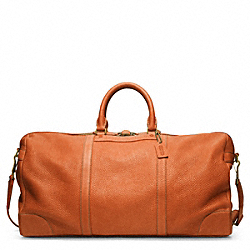 BLEECKER PEBBLED LEATHER CABIN BAG COACH F93243