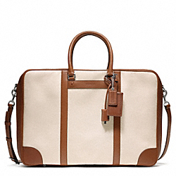 COACH BLEECKER CANVAS SUITCASE - ONE COLOR - F93250