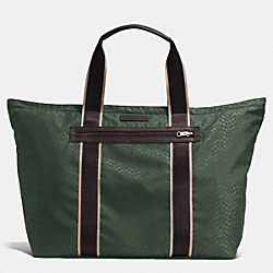 VARICK NYLON PACKABLE WEEKEND TOTE - GMD20 - COACH F93314