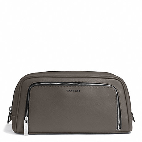 COACH SAFFIANO GROOMING TRAVEL KIT - SV/STERLING - f93320