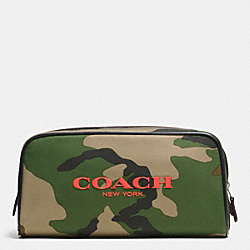 COACH WEEKEND TRAVEL KIT IN NYLON - CLASSIC CAMO - F93446