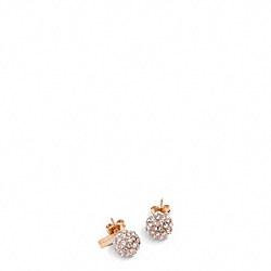 COACH Holiday Pave Stud Earrings - ONE COLOR - F95252
