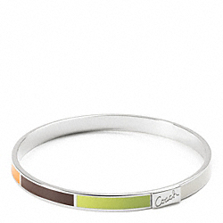 COACH THIN LEGACY BANGLE - ONE COLOR - F95836