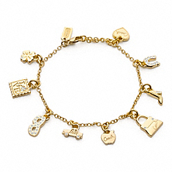 COACH SHOPPING BRACELET - ONE COLOR - F95850