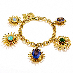 COACH SUNBURST STONE BRACELET - ONE COLOR - F95930