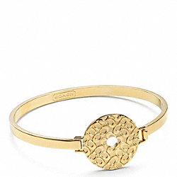 COACH MIRANDA DISC BRACELET - ONE COLOR - F96233