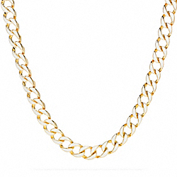 TOGGLE CHAIN NECKLACE COACH F96262
