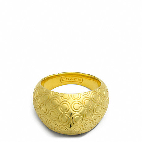 COACH OP ART PYRAMID RING -  - f96322