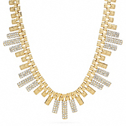DECO BAR NECKLACE COACH F96334