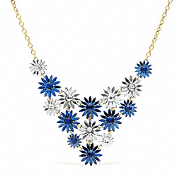 COACH FLOWER BIB NECKLACE - ONE COLOR - F96378