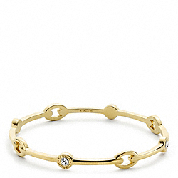 COACH SNAPHEAD BANGLE - ONE COLOR - F96409