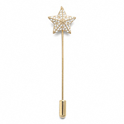 COACH PAVE STAR STICK PIN - ONE COLOR - F96429