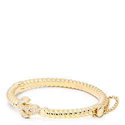 COACH ANCHOR ROPE HINGED BRACELET - ONE COLOR - F96762