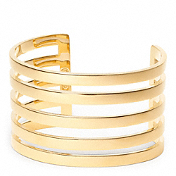 LINEAR CUT OUT CUFF - f96774 - 24845