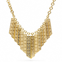 SHARD BIB NECKLACE - f96778 - 24849