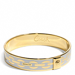 COACH HALF INCH LINK BANGLE - ONE COLOR - F96814