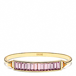 COACH BAGUETTE BANGLE - ONE COLOR - F96867