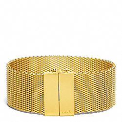 COACH F96886 - MESH BRACELET ONE-COLOR