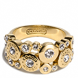 COACH MULTI SNAP RING - ONE COLOR - F96949