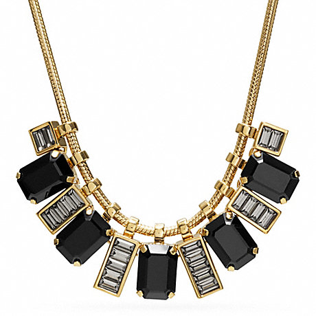 COACH SHORT RHINESTONE NECKLACE -  - f96997