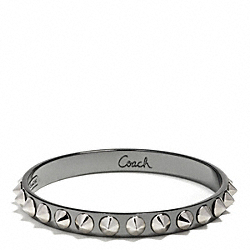 COACH CONE SPIKE PYRAMID BANGLE - ONE COLOR - F99517