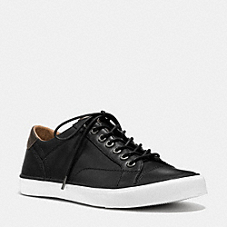 COACH PERKINS LO TOP SNEAKER - BLACK - FG1056