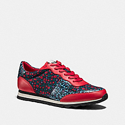 COACH C121 RUNNER - BRIGHT RED - FG1258