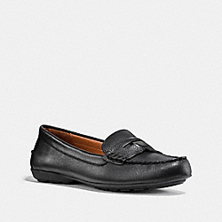 COACH PENNY LOAFER - BLACK - COACH FG1268
