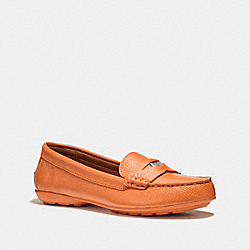 COACH PENNY LOAFER - CORAL - COACH FG1268