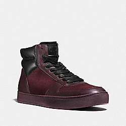 DEWITT HIGH TOP - OXBLOOD - COACH FG1279