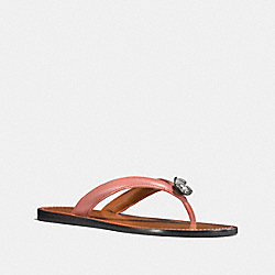 TEA ROSE FLIP FLOP - MELON - COACH FG1371